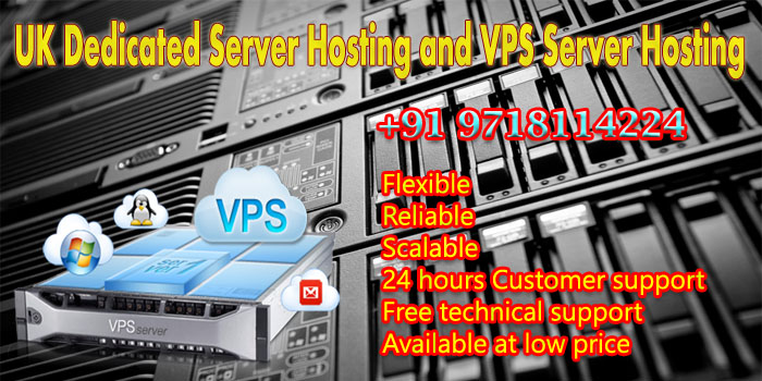 UK VPS Server Hosting an Dedicated Server Hosting Packages
