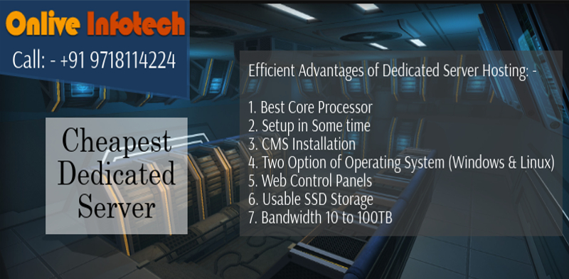 Cheapest Dedicated Server Hosting With First Class CMS Installation